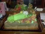 """The birthday boy said """"At least 6 people asked for time alone with this cake."""""""